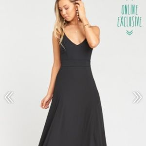 Jen Maxi Dress-Black Bridesmaid-Show Me Your Mumu